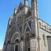 The Cathedral At Orvieto Art Print