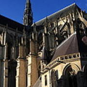 The Cathedral Basilica -  Amiens - France Art Print