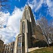 The Cathedral Of Learning 2g Art Print