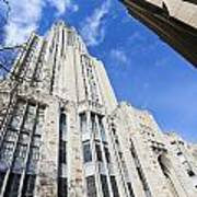 The Cathedral Of Learning 5 Art Print