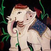 The Celestial Elephant Art Print