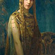 The Celtic Princess Art Print