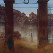 The Cemetery Art Print