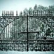 The Cemetery Gates Art Print