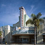 The Century Theatre In Ventura Art Print