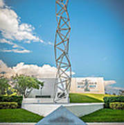 The Challenger Memorial 2 - Bayfront Park - Miami Art Print by Ian Monk