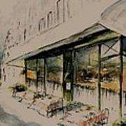 The Champs Elysees Art Print
