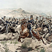 The Charge Of The Light Brigade, 1895 Art Print
