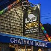 The Chatham Squire Art Print