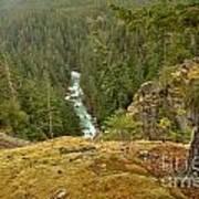 The Cheakamus River Gorge Art Print