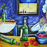 The Chef Art Print