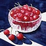The Cherry Bowl Art Print