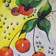 The Cherry Fairy Art Print
