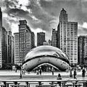 The Chicago Bean II Art Print