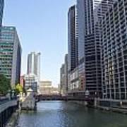The Chicago River Art Print