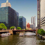 The Chicago River South Branch Art Print