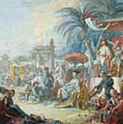 The Chinese Fair, C.1742 Oil On Canvas Art Print