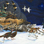 The Christmas Star Art Print by Lynn Bywaters