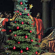 The Christmas Tree Of The Horatii Art Print