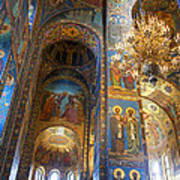 The Church Of Our Savior On Spilled Blood - St. Petersburg - Russia Art Print