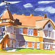 The Church On Shepherd Street II Art Print