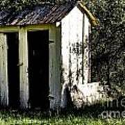 The Church Outhouse Art Print