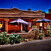 The Church Street Cafe - Albuquerque New Mexico Art Print