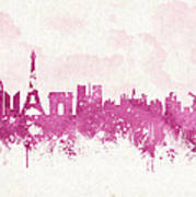 The City Of Love Art Print