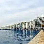 The City Of Thessaloniki. Art Print