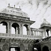 The City Palace Udaipur Art Print