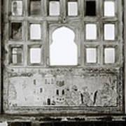 The City Palace Window Art Print