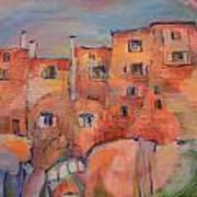 The City Walls Watch Art Print