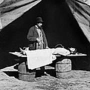 The Civil War, Embalming Surgeon Art Print