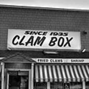 The Clam Box Art Print by Joann Vitali