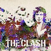 The Clash Portrait Art Print