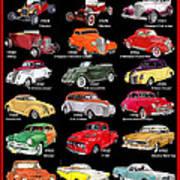 Ford Poster Art Art Print