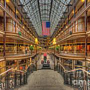 The Cleveland Arcade V Art Print