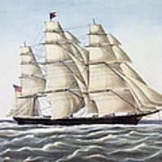 The Clipper Ship Flying Cloud Art Print