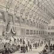 The Closing Ceremony Of The  Paris Art Print