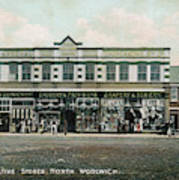 The Co-operative Stores At  North Art Print