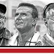 The Coaches Art Print