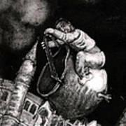 The Coal Scuttle Rider Art Print