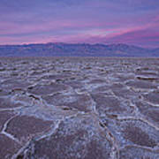 The Color Of Badwater Art Print by Tony Santo