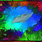 The Colorful Sea Art Print