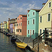The Colors Of Burano Art Print