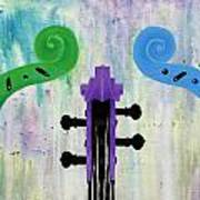 The Colors Of Music Art Print