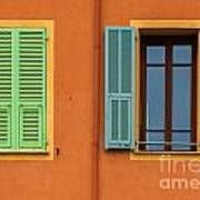 The Colors Of Old Nice Art Print