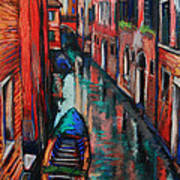 The Colors Of Venice Art Print