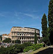 The Colosseum In Rome Art Print