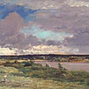 The Coming Storm Art Print by Charles Francois Daubigny
